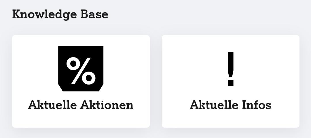 Neue Plattform: Die Knowledge Base