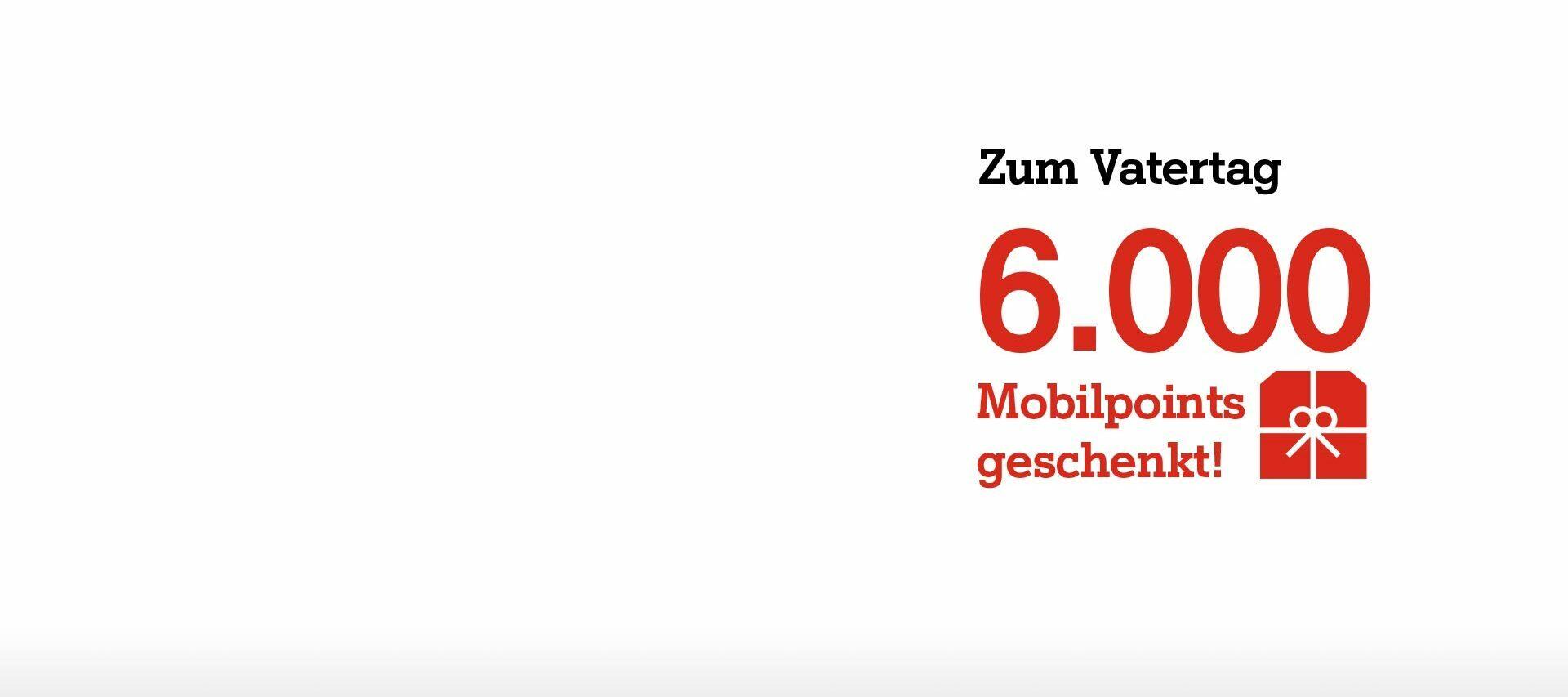 Nur am 12. und 13.06.: 6.000 Mobilpoints Bonus bei Bestellung via A1 Online Shop