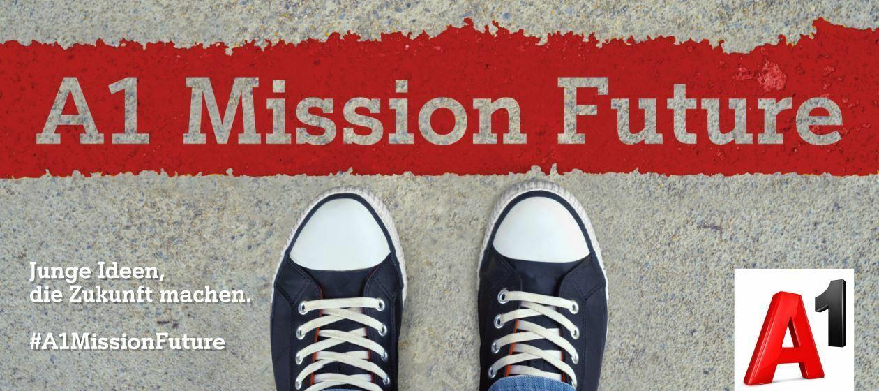 Du gestaltest die Zukunft: Jetzt für A1 Mission Future bewerben!