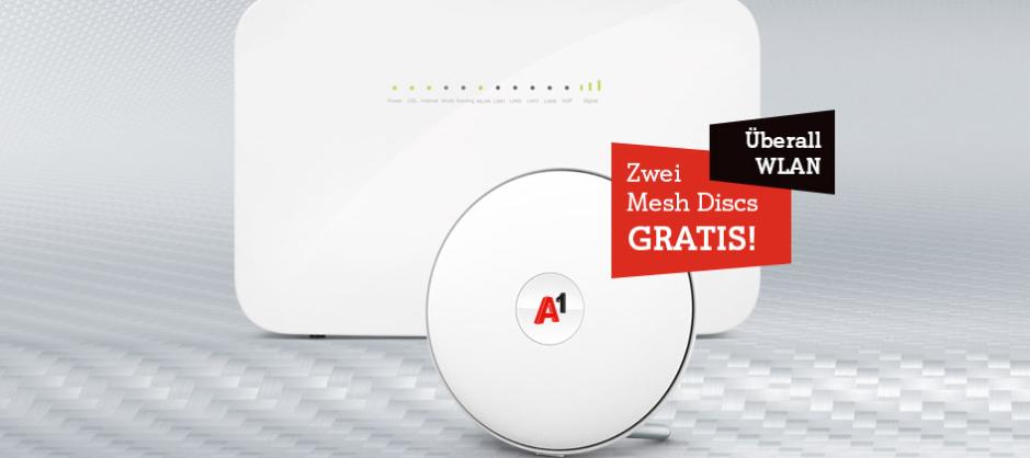 [Abgelaufen] Internet für Zuhause: Jetzt mit gratis Mesh WLAN Set