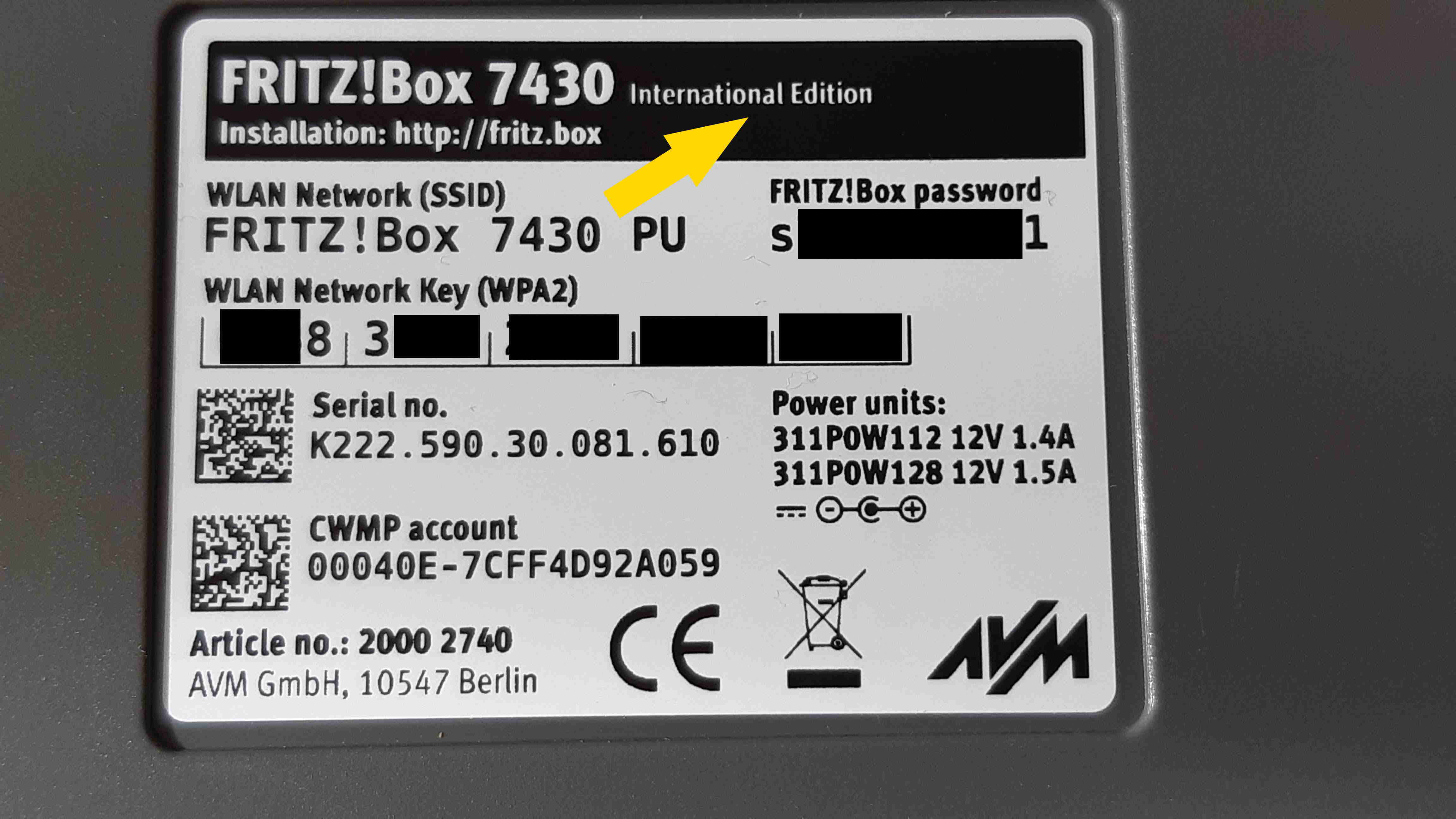 Xplor TV funktioniert mit FritzBox 20 nicht.   A20 Community