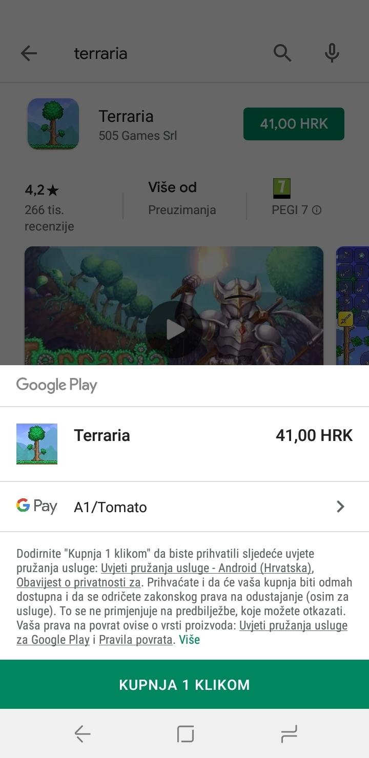 Usluge za google play