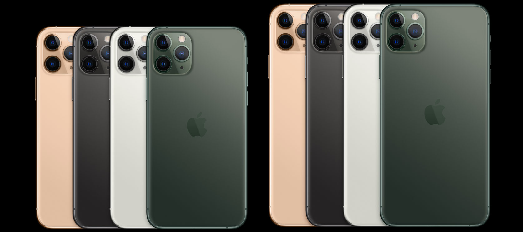 Apple Iphone 11, Iphone 11 Pro in Iphone 11 Pro Max