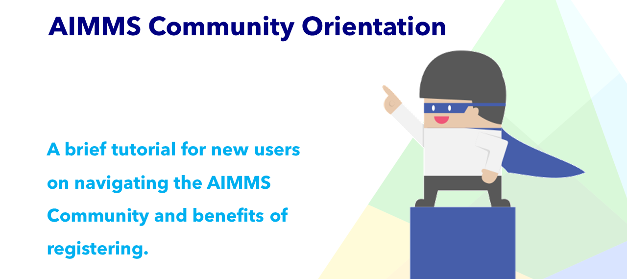 AIMMS Community Orientation (video)