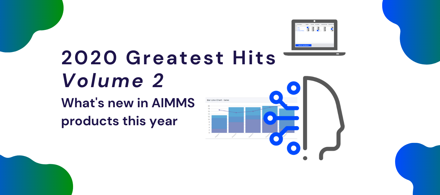What's New in AIMMS Products? 2020 Greatest Hits – Volume 2
