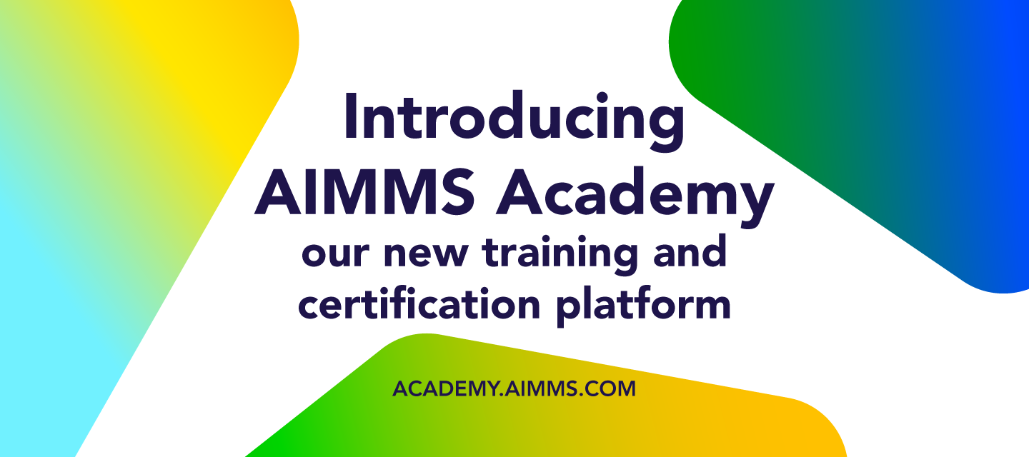 Get Certified with AIMMS Academy