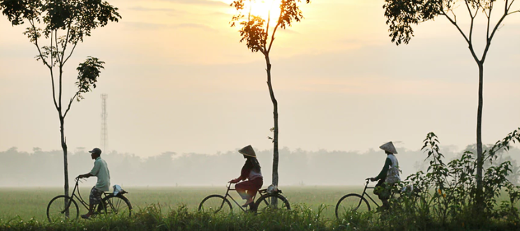 Handsfree op de fiets