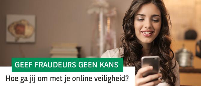 Denk aan je online veiligheid
