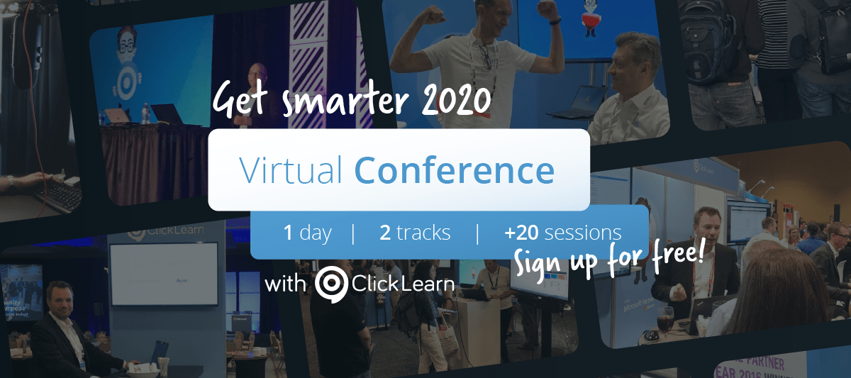 ClickLearn CEOinvites customers to the first Virtual Conference