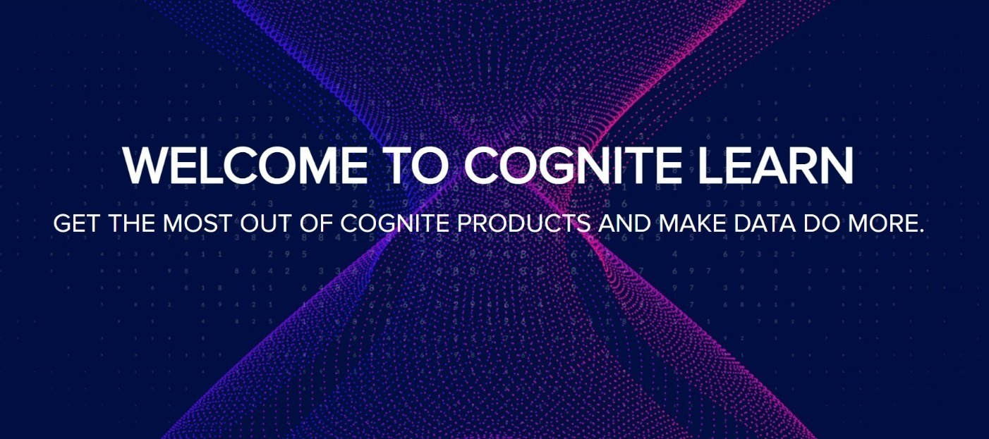 Learn in the flow of work with Cognite Hub