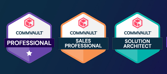 Get your badge on! New digital badges for Commvault certifications