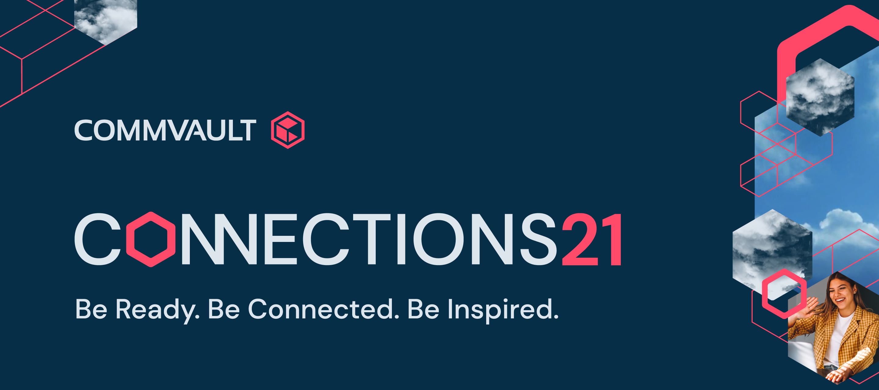 Sign up for Commvault Connections21 - global hybrid event, Oct. 28