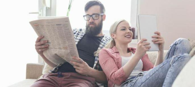 Kranten en tijdschriften lezen op je tablet