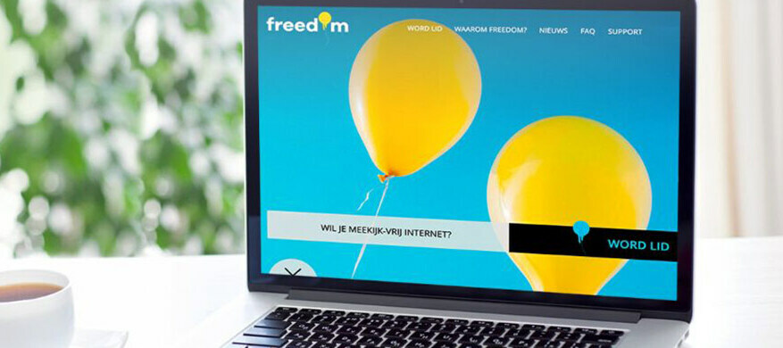 Freedom Internet: deel je ervaring