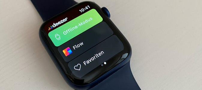 """Testbericht: """"Apple Watch""""-App mit Offline-Funktion :-)"""