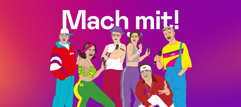 Bundestagswahl 2021: Mach mit beim Musik-O-Mat