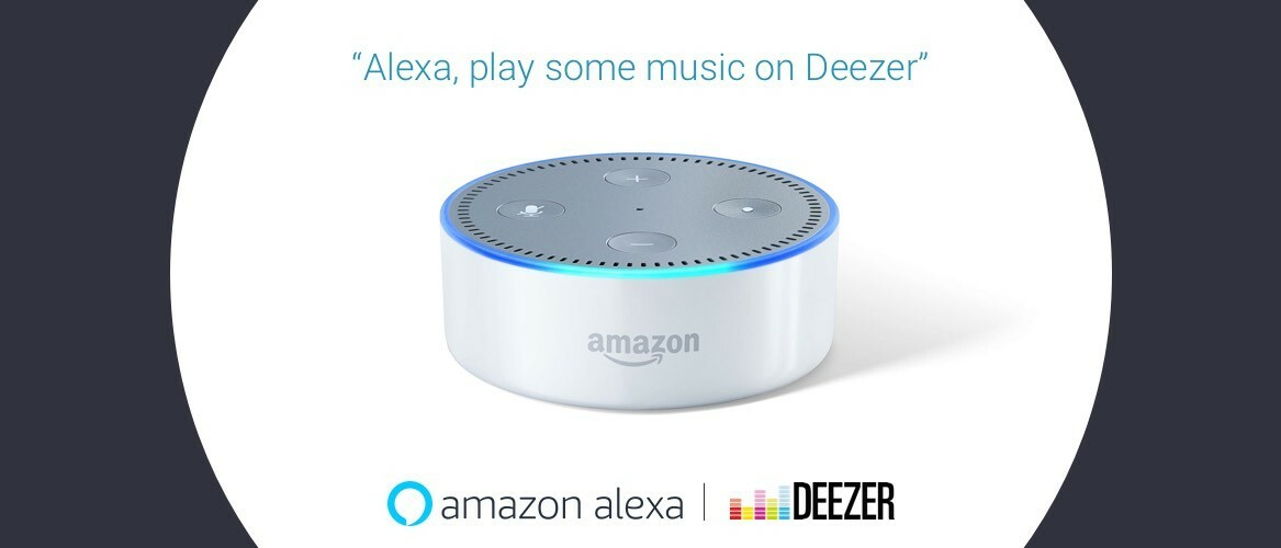 Now available - Deezer on Amazon Alexa