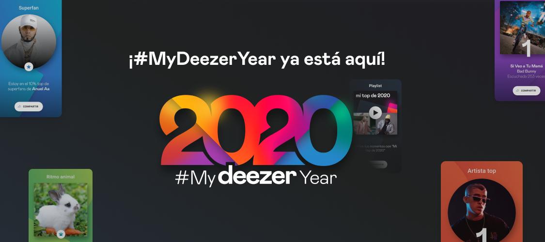 #MyDeezerYear // Descubre tu año en Deezer!!