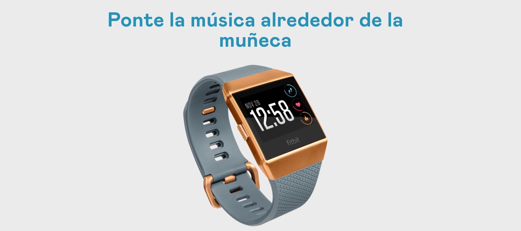 Deezer en Fitbit: descargar/eliminar y escuchar música
