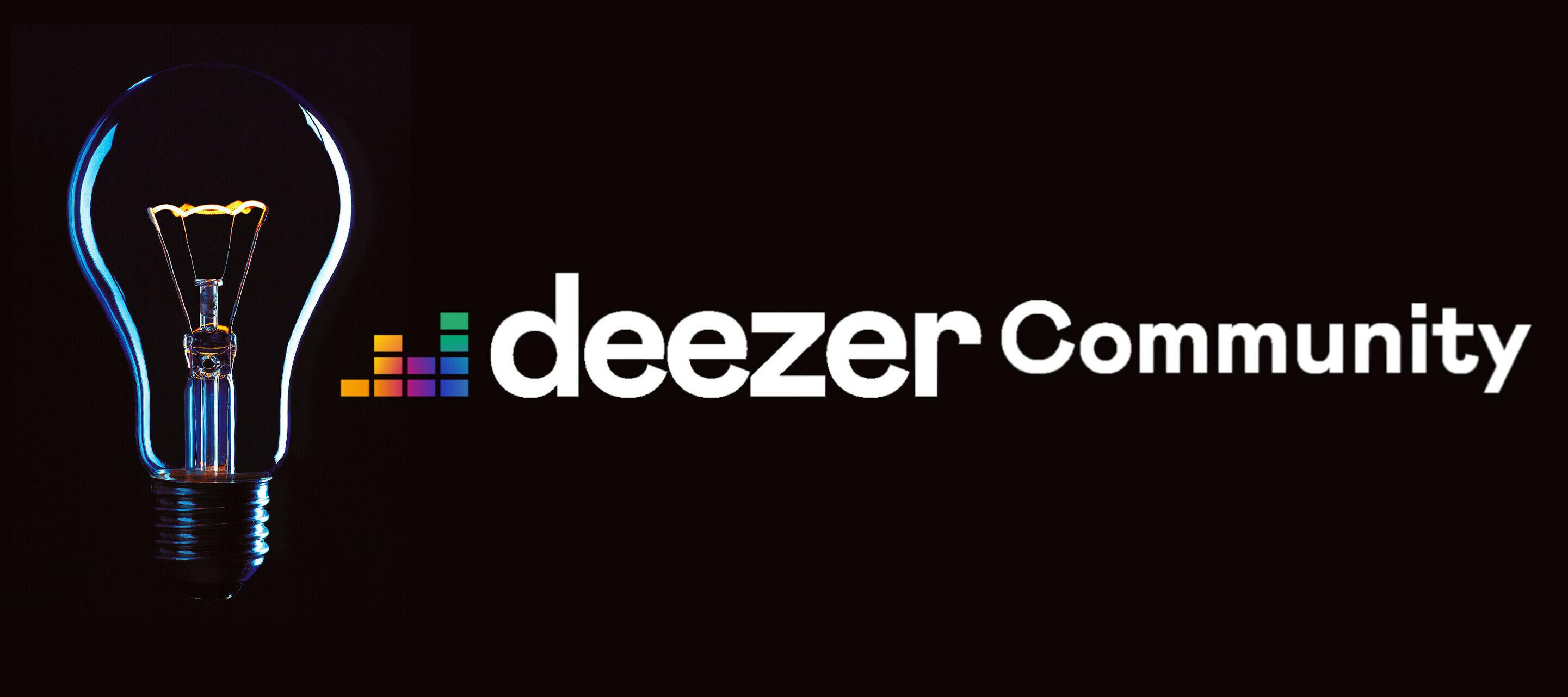 3 règles d'or pour partager votre idée sur la Communauté Deezer !