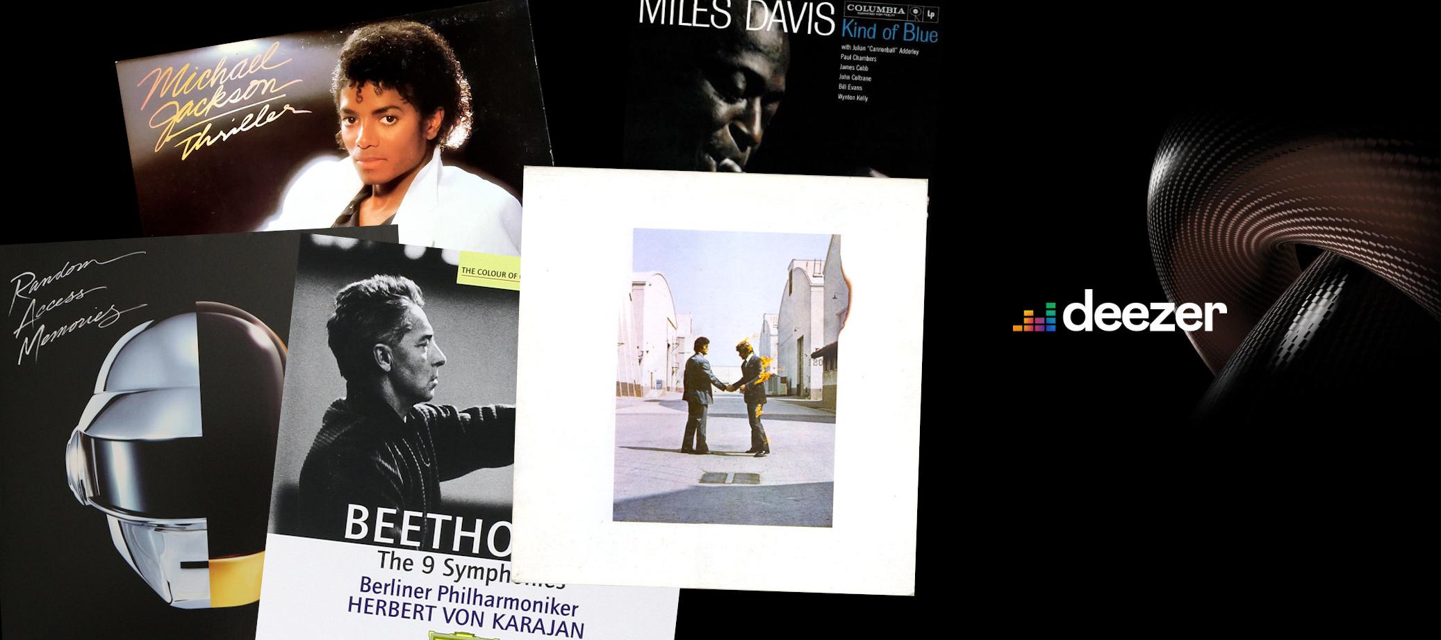 Cinq albums légendaires disponibles en HiFi