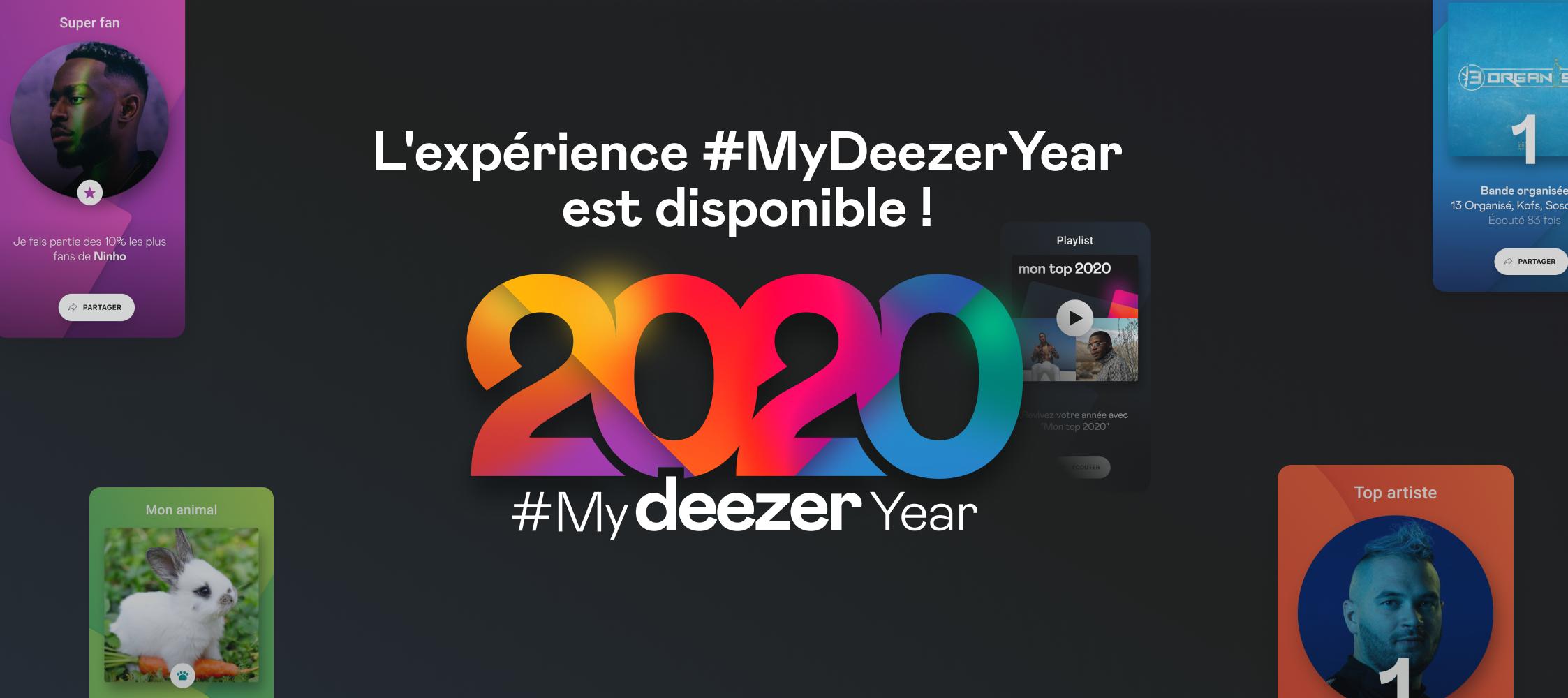 #MyDeezerYear : découvrez vos statistiques de 2020 !