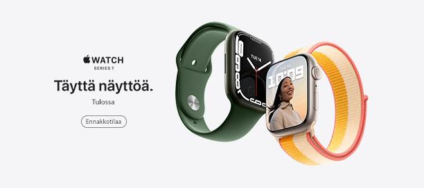 Apple Watch Series 7-mallien virallinen tiedotus- ja odotusketju