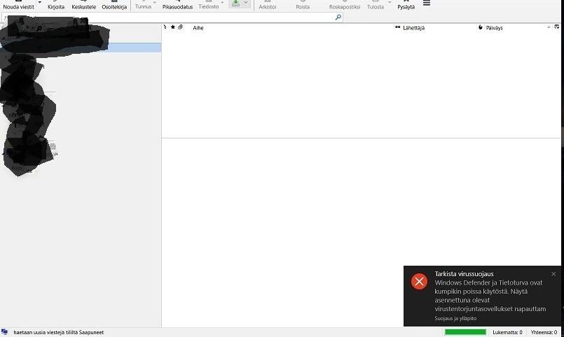 Mozilla Sähköposti