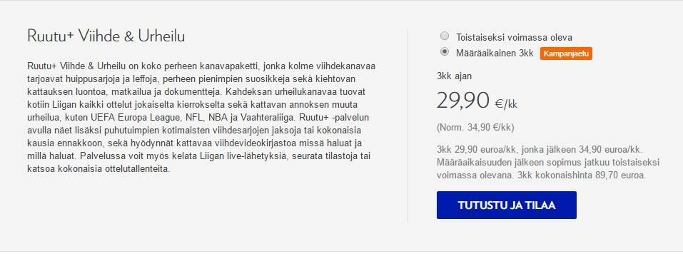 Nelonen Media lopettaa maksu-tv-toimintansa – Ruutu-palvelu ottaa sisällöt haltuun