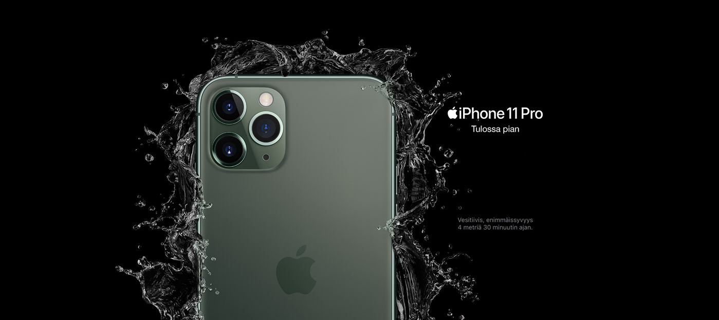 iPhone 11 ja 11 Pro, Apple Watch Series 5-kellon sekä uuden iPadin virallinen odotus- ja tiedotusketju