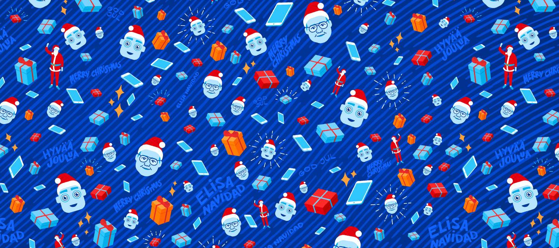 Osallistu perinteiseen joulukisaan ja voit voittaa toivelahjan Elisan verkkokaupasta!