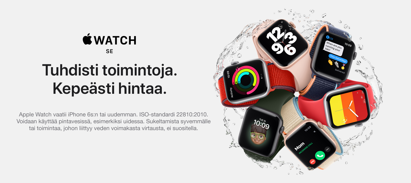 Apple Launch 2020 - uusien Apple Watch-mallien ja iPadin odotusketju