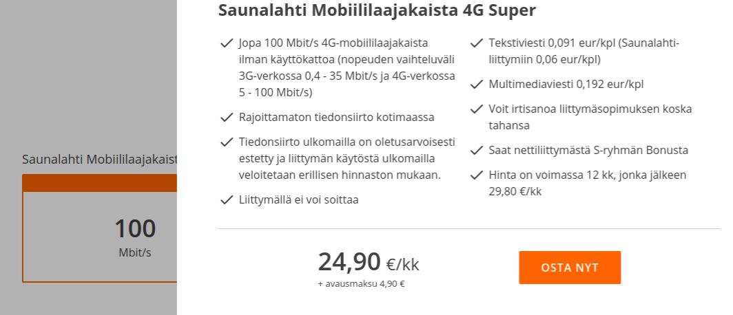 Elisa Netti Häiriö