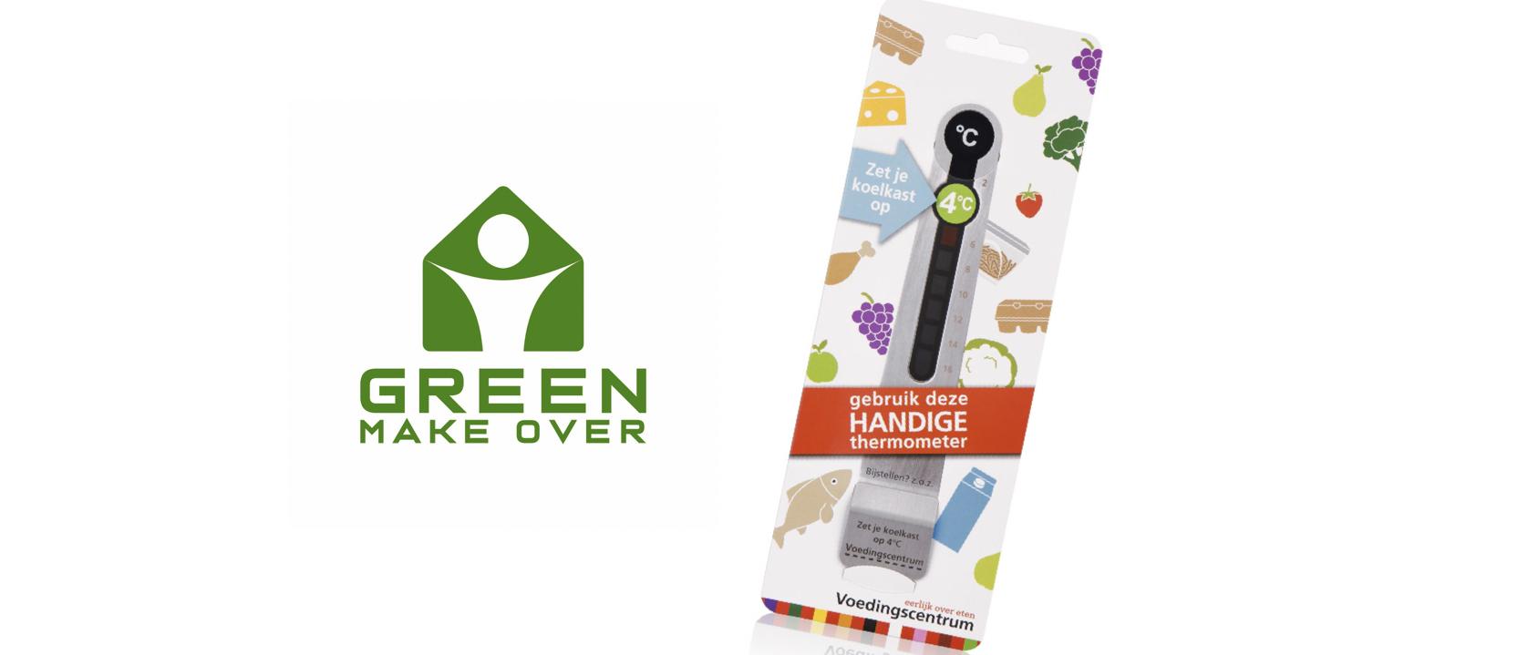 Tip uit Green Make Over: Bestel een gratis koelkastthermometer