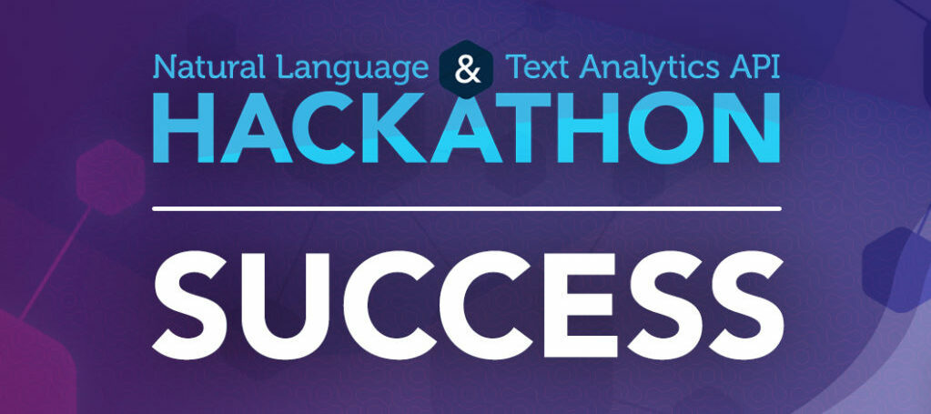 Natural Language & Text Analytics API Hackathon Project Gallery