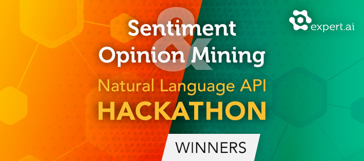 Sentiment & Opinion Mining NL API Hackathon: And the Winners Are...