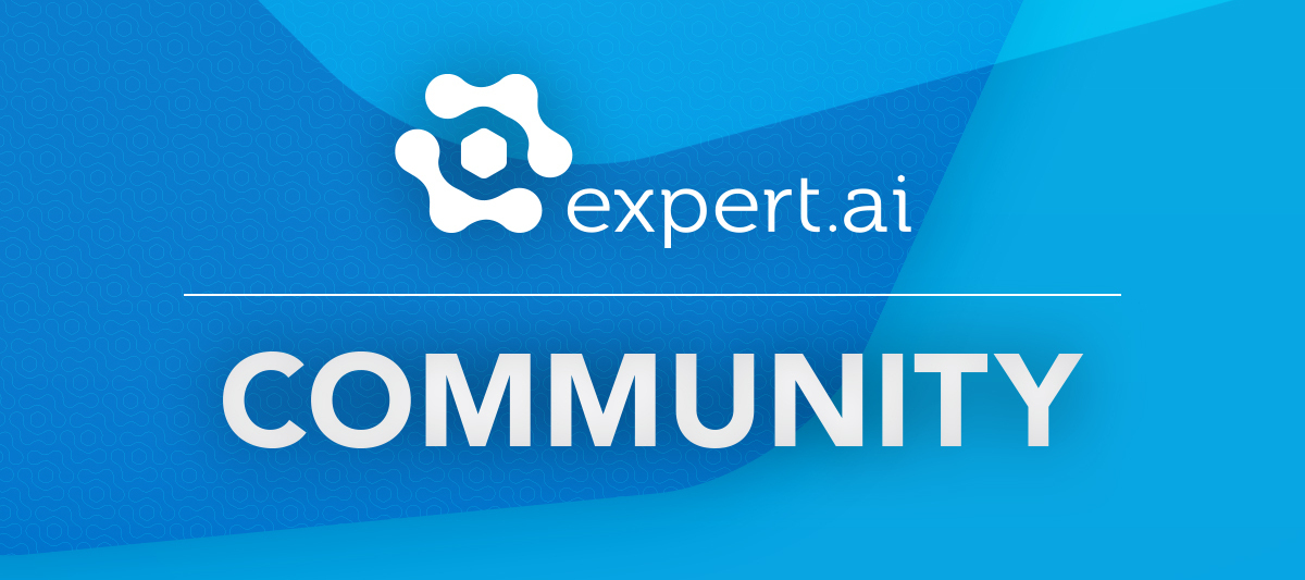 Welcome to the Expert.ai Community!