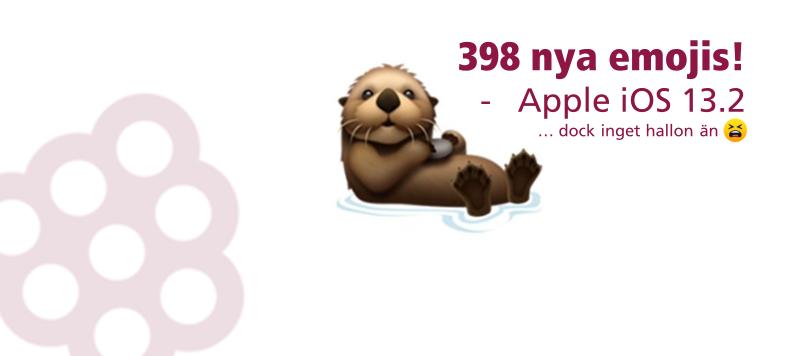 Nya emojis med iOS 13.2 - vilken är din favorit?