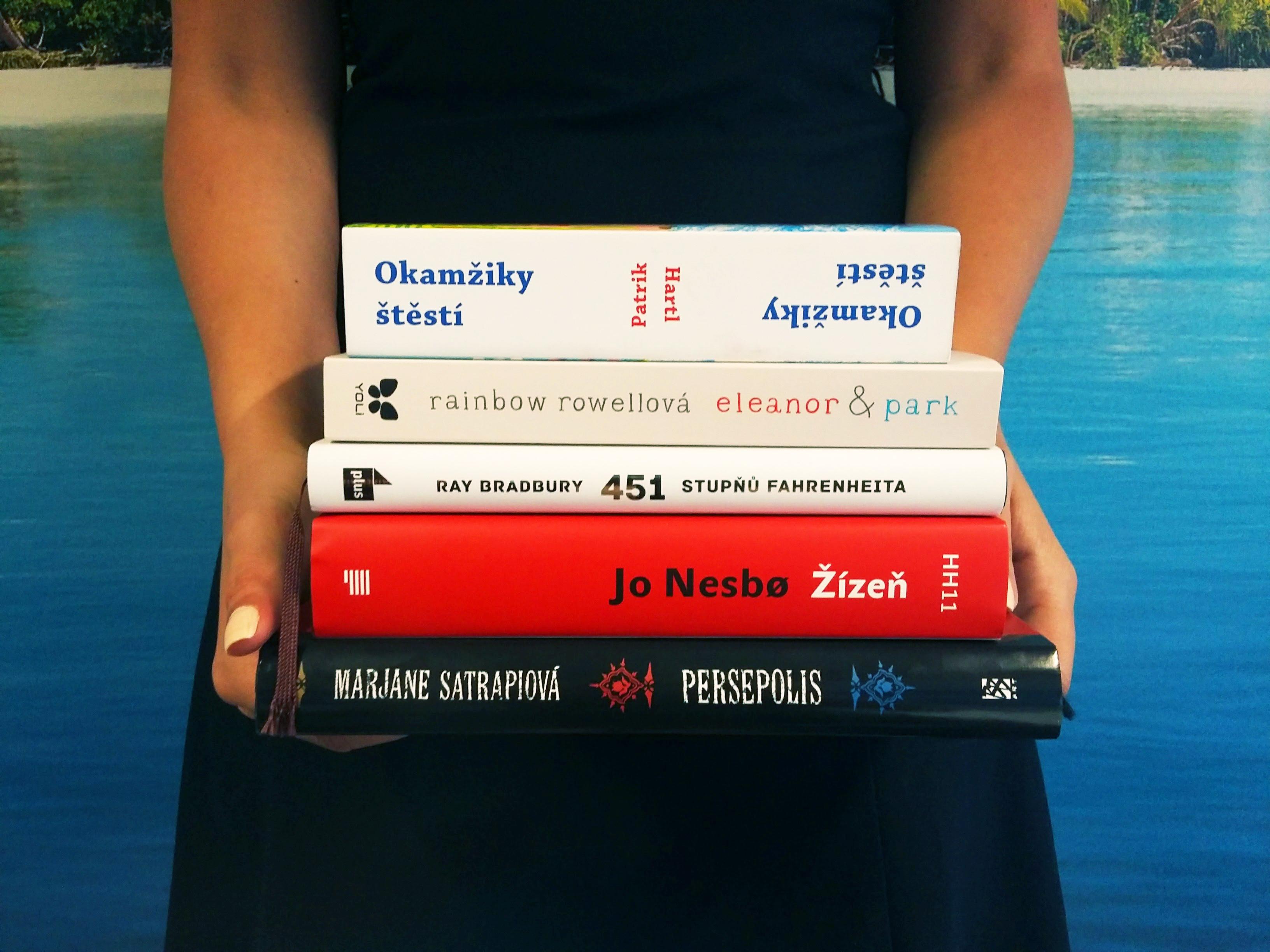 5 knih, které si vzít na dovolenou