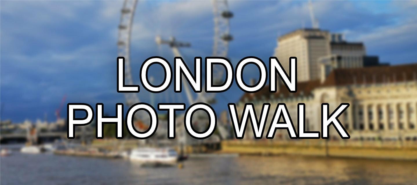 Huawei's First Photo Walk in London