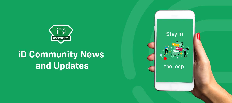 iD Community News & Updates - April