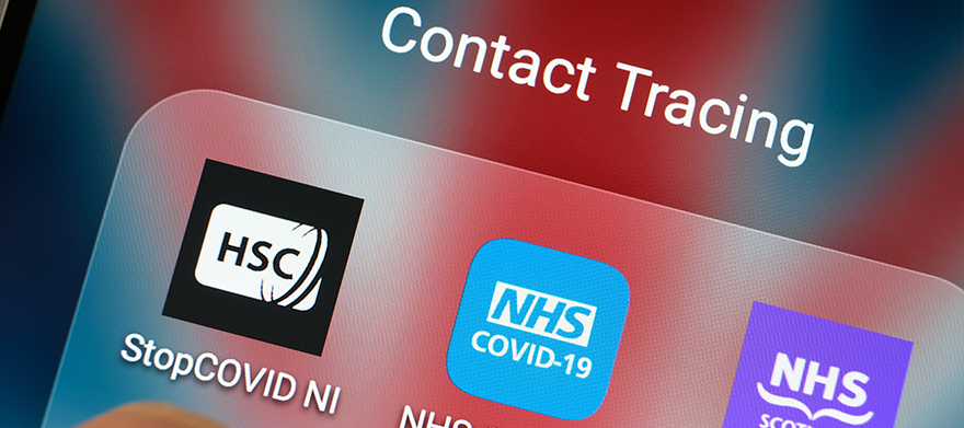 Download the NHS Track & Trace app – Competition