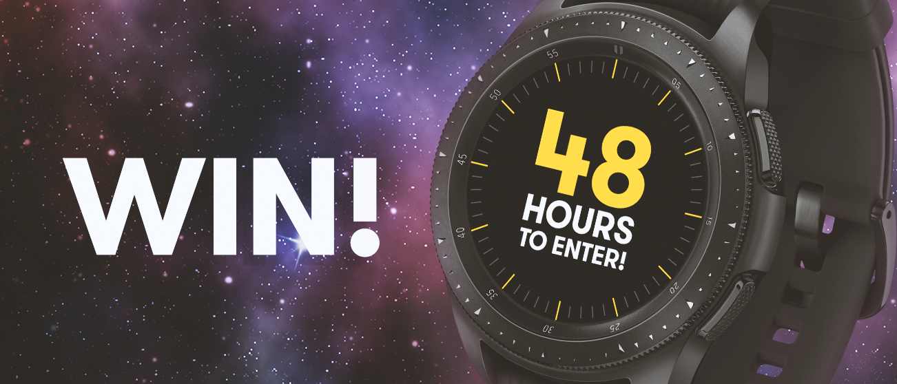NOW CLOSED - Samsung Galaxy Watch Giveaway