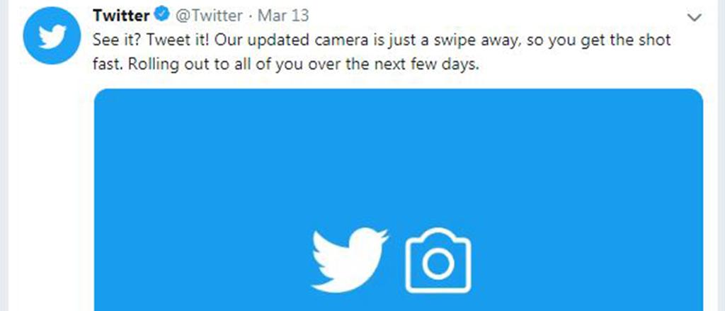 Twitter's new Snapchat-like camera