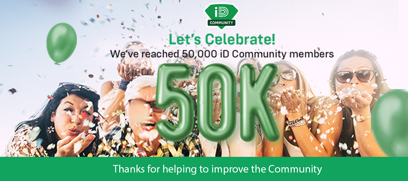 We've reached 50,000 members!