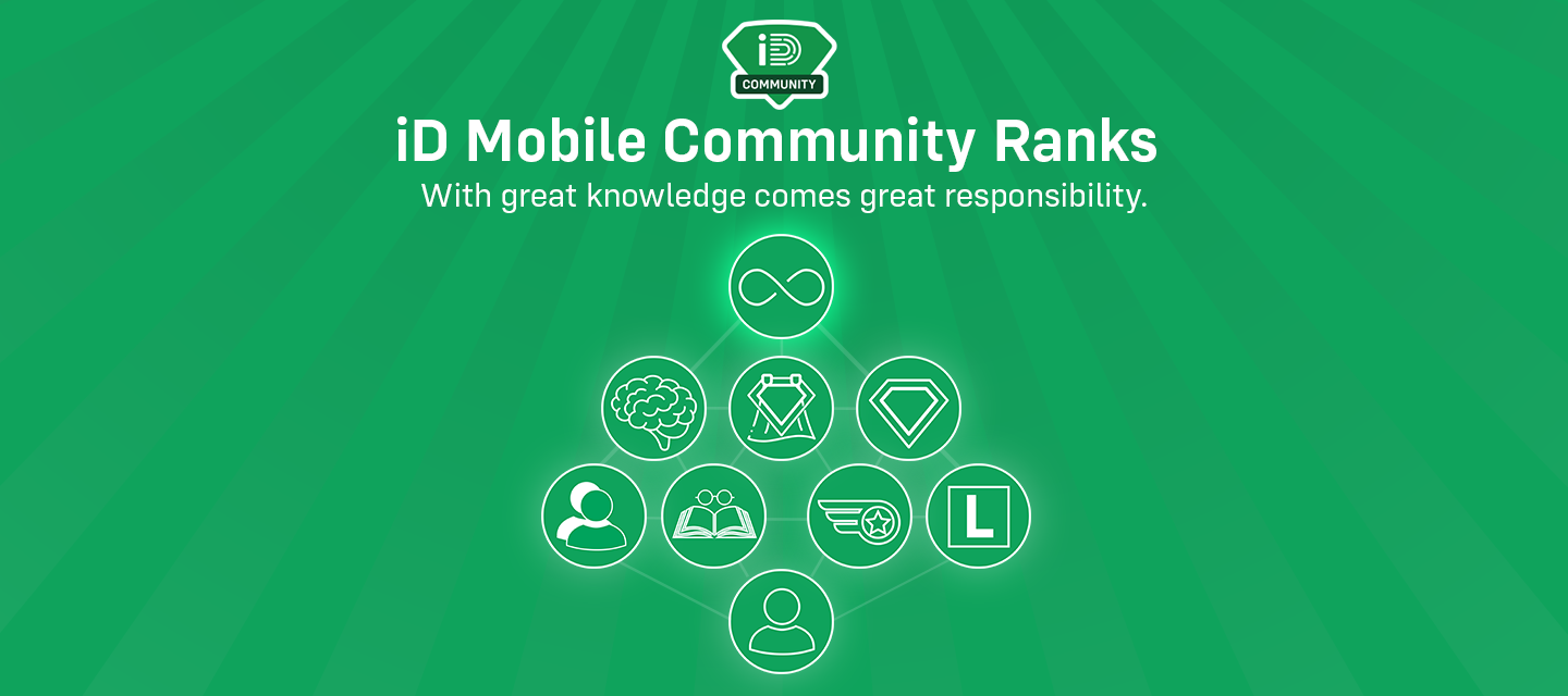 The iD Community Ranks - Competition