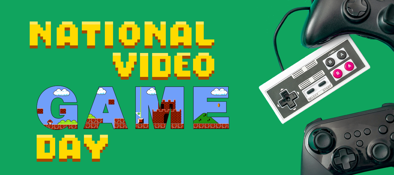 Win a prize this Video Games Day - Closed