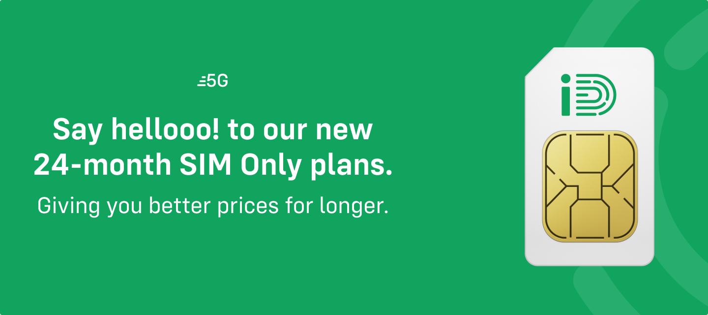 24-month SIM Only plans are here