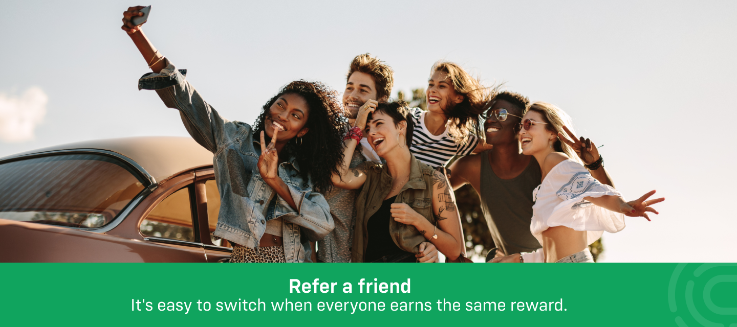 Get rewarded when your friend joins iD with Refer a Friend!