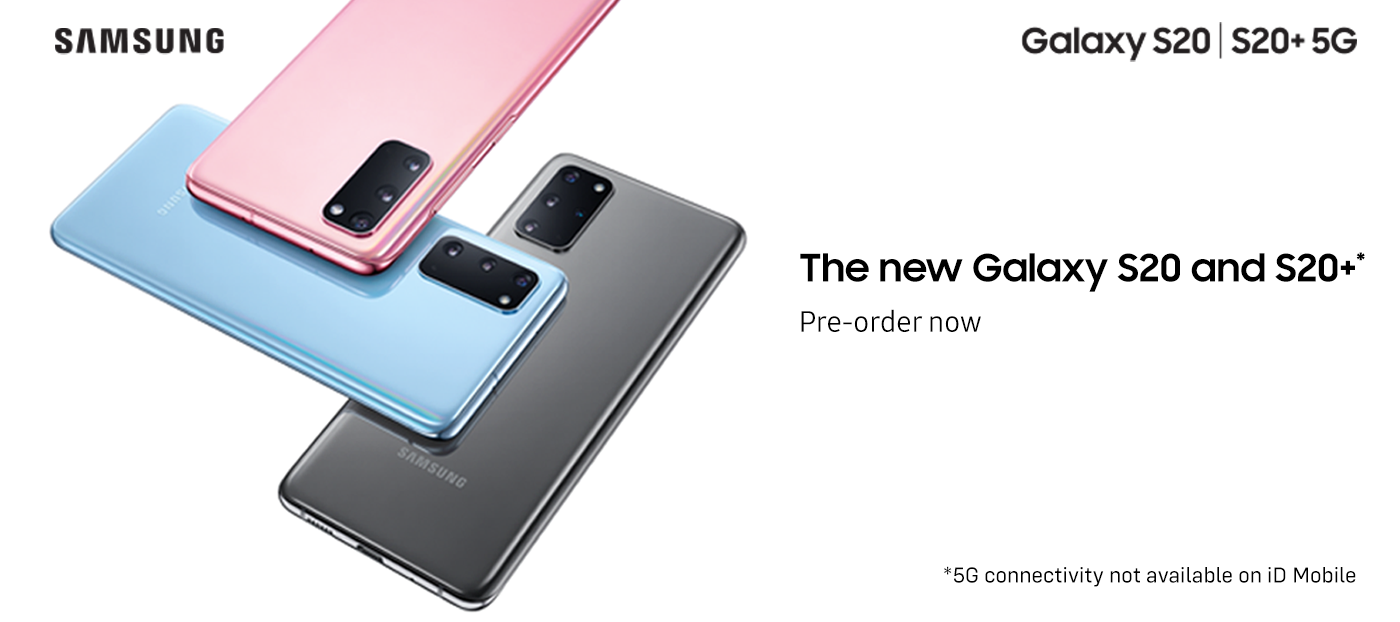 Pre-order your game changing Samsung S20